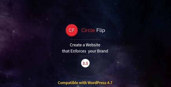 قالب Circle Flip - پوسته چند منظوره وردپرس