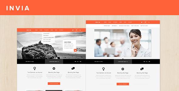 INVIA - قالب وردپرس شرکتی