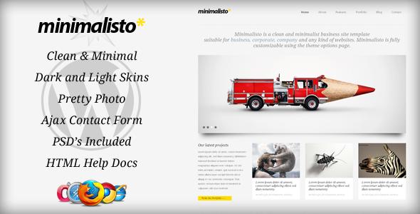 قالب Minimalisto - قالب وردپرس فوق العاده