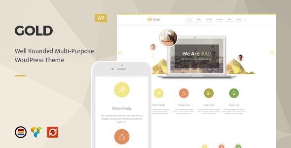 قالب طلا | Gold - قالب وردپرس کسب و کار ریسپانسیو