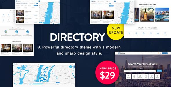 قالب Directory - قالب وردپرس چند منظوره