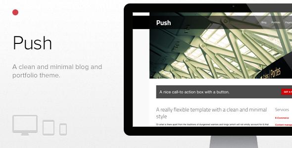 Push - قالب وردپرس