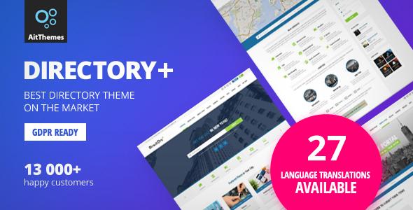 Directory - قالب وردپرس