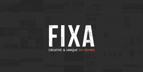 Fixa - قالب وردپرس ووکامرس