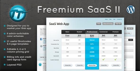 قالب Freemium SaaS II - قالب وردپرس بلاگ