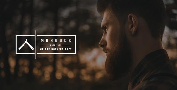 قالب Murdock - قالب وردپرس آرایشگاه و سالن زیبایی