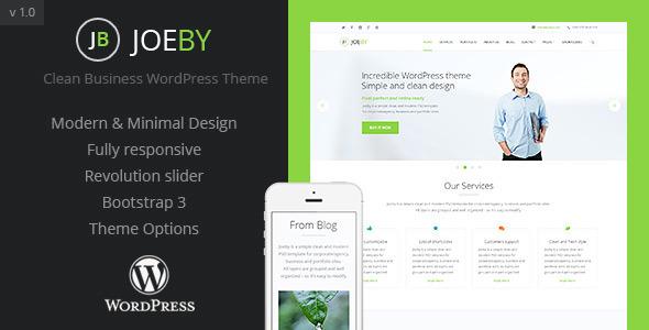 JoeBy - قالب وردپرس کسب و کار