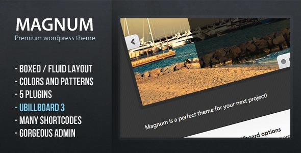 Magnum - قالب وردپرس فوق العاده
