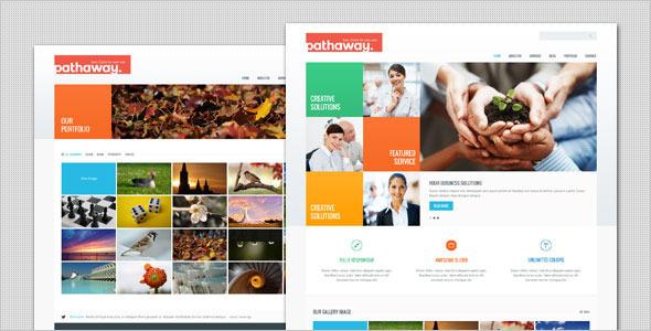 قالب Pathaway - قالب وردپرس کسب و کار مدرن