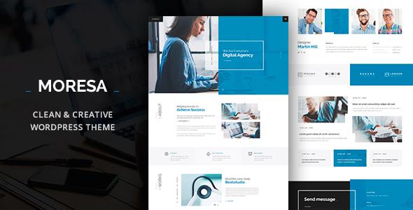 قالب Moresa - قالب وردپرس کسب و کار