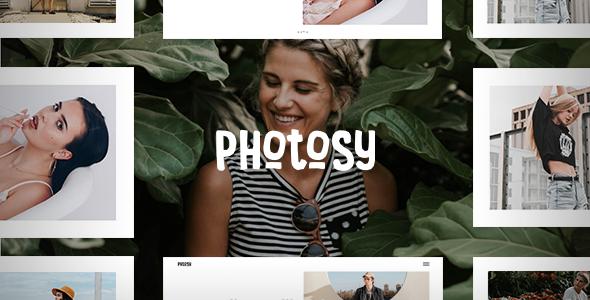 قالب Photosy Photography - قالب وردپرس عکاسی