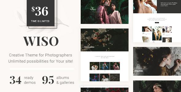 Photography WISO - قالب عکاسی وردپرس