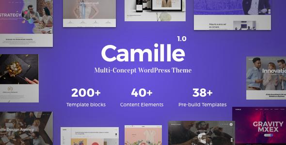 قالب Camille - قالب وردپرس چند مفهومی
