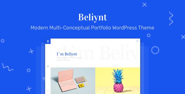 قالب Beliynt Lite - قالب وردپرس نمونه کارها