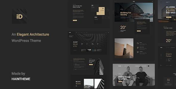 قالب Insidect - قالب وردپرس معماری و دکوراسیون داخلی