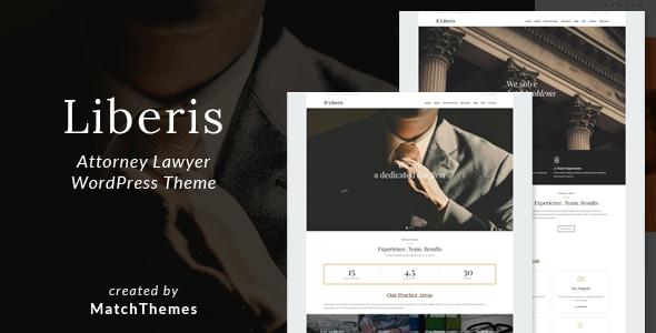 قالب Liberis - قالب سایت وکالت و وکیل