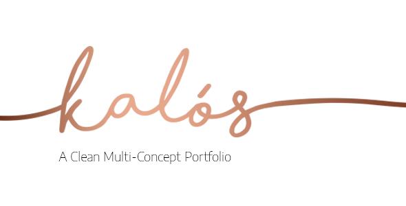 قالب Kalόs - پوسته وردپرس نمونه کار مینیمال