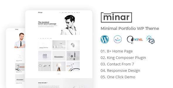 قالب Minar - قالب وردپرس نمونه کار