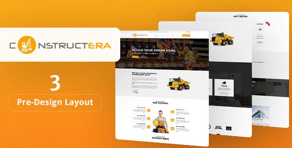 Constructera - قالب وردپرس ساخت و ساز