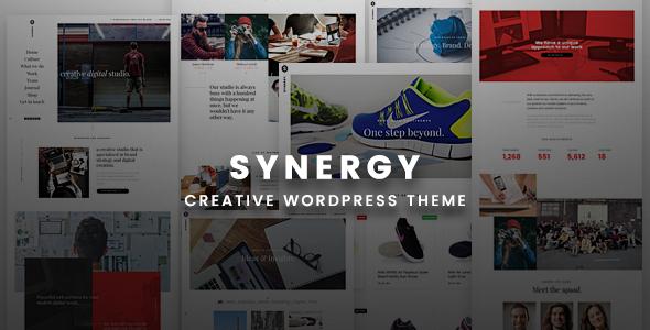 قالب Synergy Creative - قالب وردپرس خلاقانه
