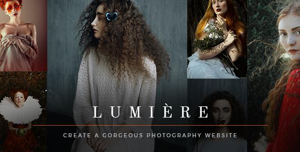 قالب Lumière - تم وردپرس عکاسی