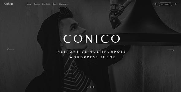 قالب Conico - قالب وردپرس چند منظوره ریسپانسیو