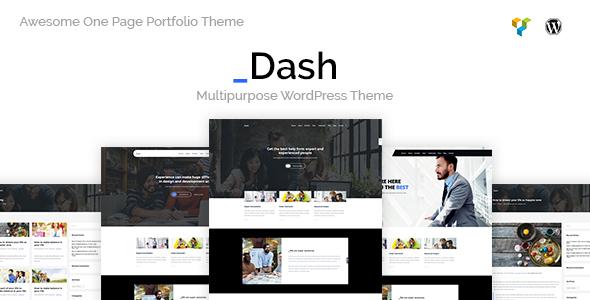 قالب Dash - قالب وردپرس کسب و کار و شرکت