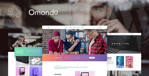 قالب Omondo - قالب وردپرس آژانس تبلیغاتی خلاقانه