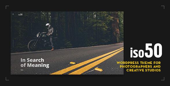 قالب Iso50 - قالب وردپرس عکاسی