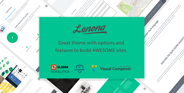 قالب Lenona - قالب وردپرس کسب و کار چند منظوره