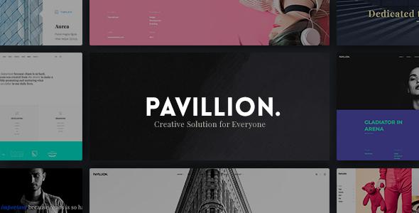 قالب Pavillion - قالب وردپرس چند منظوره خلاقانه