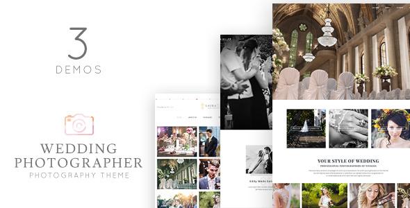 Vivagh Photographer - قالب وردپرس عکاس عروسی