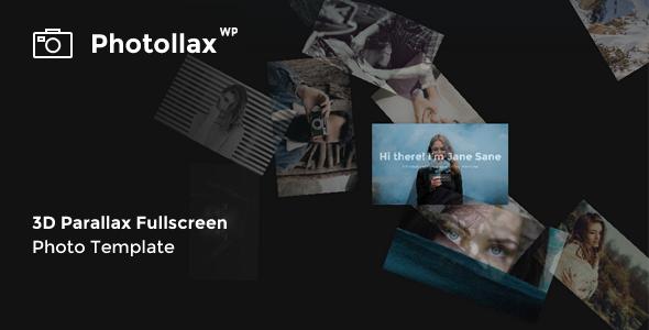 قالب Photollax - قالب وردپرس عکاسی خلاقانه