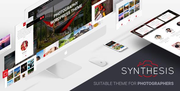 قالب Synthesis - قالب وردپرس مناسب عکاسان