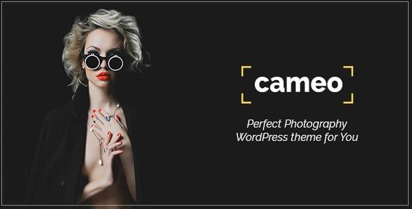 قالب Cameo Photography - قالب وردپرس عکاسی