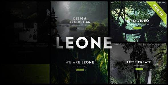 قالب Leone - قالب وردپرس تک صفحه ای چند منظوره