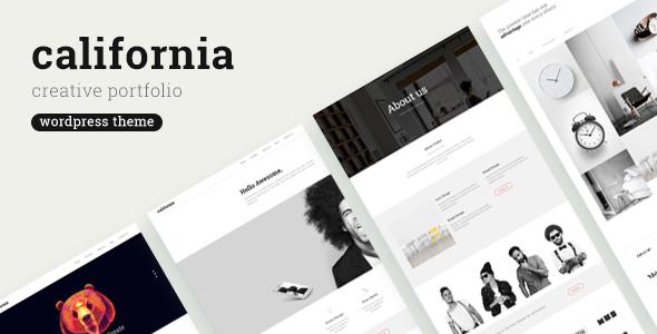 Portfolio California - قالب نمونه کار وردپرس