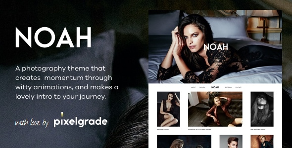 NOAH - قالب وردپرس عکاسی