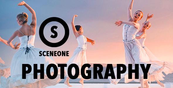 قالب SceneOne - قالب عکاسی برای وردپرس