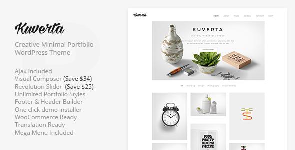 قالب Kuverta - قالب وردپرس نمونه کار