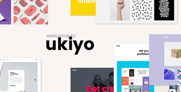 Ukiyo - قالب وردپرس مدرن ویژه فریلنسرها و آژانس ها
