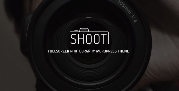 قالب Shoot - قالب وردپرس عکاسی تمام صفحه
