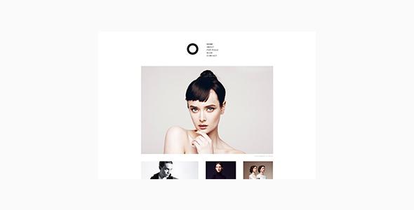 قالب Enso - قالب وردپرس نمونه کار و عکاسی مینیمال