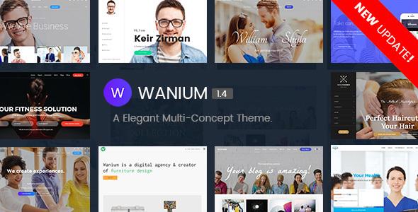 وانیوم   Wanium - قالب وردپرس چند منظوره