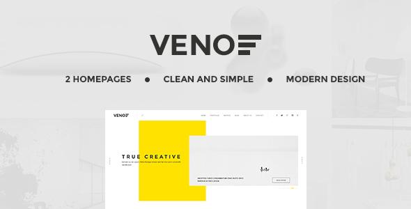 قالب Veno - قالب وردپرس خلاقانه