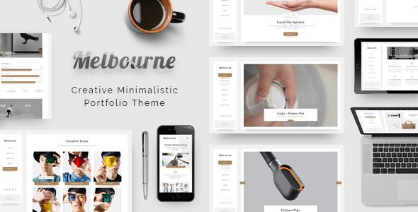 قالب Melbourne - قالب نمونه کار وردپرس