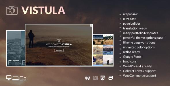 Vistula - قالب وردپرس عکاسی