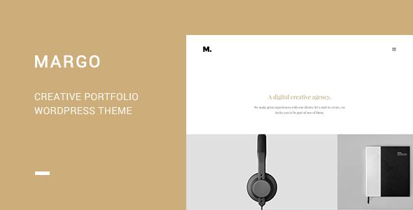 قالب Margo - قالب وردپرس نمونه کار خلاقانه