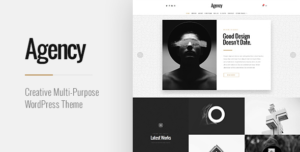 قالب Agency - قالب وردپرس چند منظوره خلاقانه