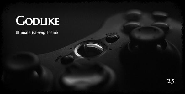 قالب Godlike - قالب وردپرس بازی کامپیوتری